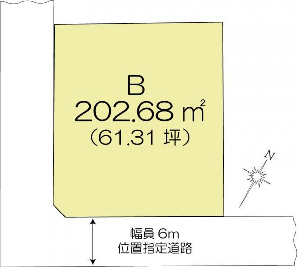 土地 茨城県水戸市元吉田町 JR常磐線(取手~いわき)水戸駅 1200万円