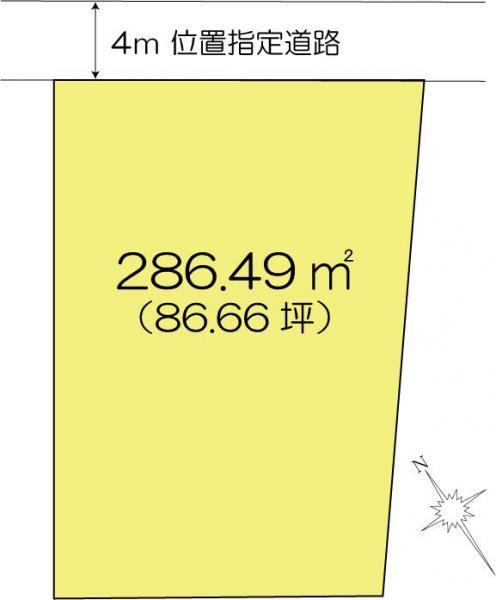 土地 茨城県水戸市元吉田町1662-10 JR常磐線(取手~いわき)水戸駅 1200万円
