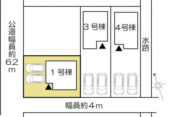 新築戸建 茨城県水戸市吉沢町88-1 JR常磐線(取手~いわき)水戸駅 1880万円