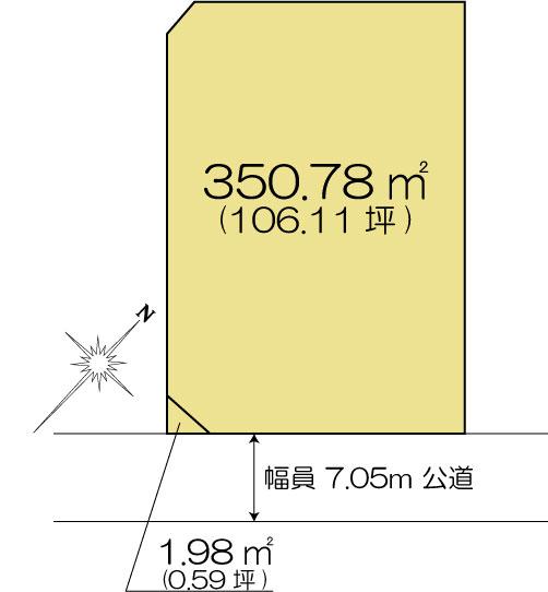 土地 茨城県水戸市姫子1丁目 JR常磐線(取手~いわき)水戸駅 2000万円