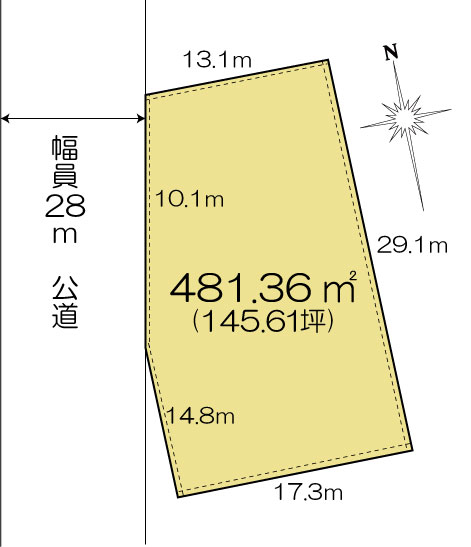 土地 茨城県水戸市元吉田町322-1 JR常磐線(取手~いわき)水戸駅 7000万円