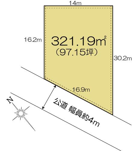 土地 茨城県水戸市見川町2563-379 JR常磐線(取手~いわき)水戸駅 1380万円