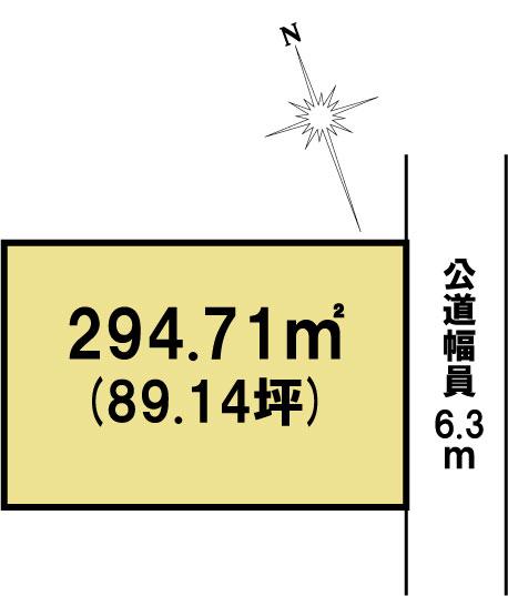土地 茨城県水戸市朝日町2877-1 JR常磐線(取手~いわき)水戸駅 1200万円