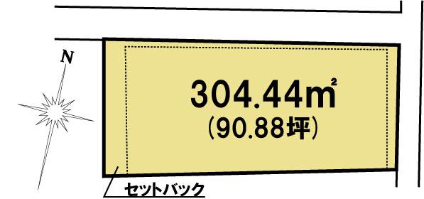 土地 茨城県水戸市笠原町267-2 JR常磐線(取手~いわき)水戸駅 1073万円