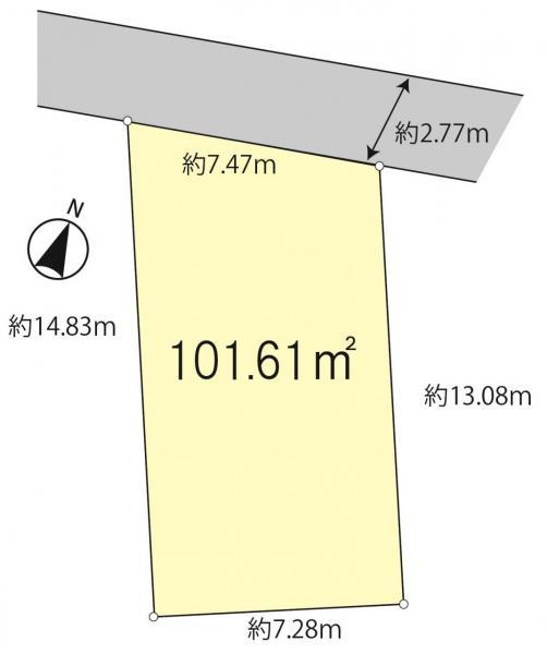 土地 松戸市五香1丁目 新京成電鉄線五香駅 980万円