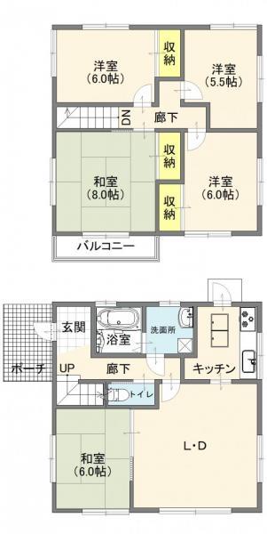 中古戸建 柏市松ケ崎 千代田常磐線柏駅 2380万円