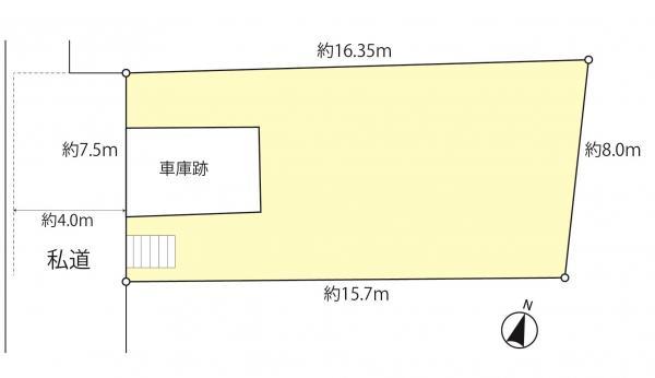土地 千葉県流山市大字東深井 東武野田線運河駅 680万円
