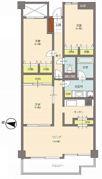 中古マンション 千葉県柏市あかね町 JR常磐線(上野~取手)柏駅 1250万円