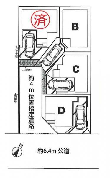 新築戸建 さいたま市南区辻6丁目 JR埼京線北戸田駅 3790万円