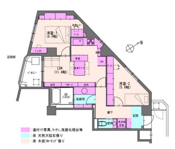 中古マンション さいたま市南区根岸5丁目 JR埼京線武蔵浦和駅 2780万円
