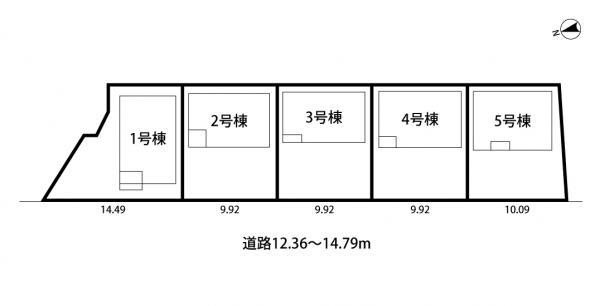 新築戸建 高浜市小池町6丁目 名鉄三河線吉浜駅 2890万円