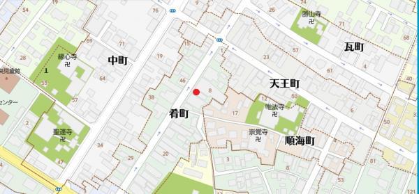土地 西尾市肴町 名鉄西尾線西尾駅 1350万円
