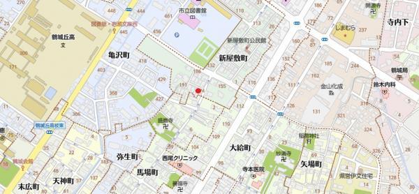 土地 西尾市新屋敷町 名鉄西尾線西尾口駅 1533万円