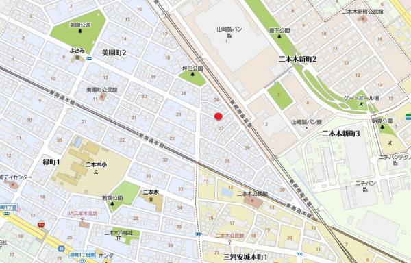 中古戸建 安城市美園町2丁目 JR東海道本線(熱海〜米原)三河安城駅 4199万円