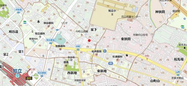 土地 知立市中町中 名鉄三河線三河知立駅 850万円