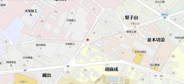 土地 西尾市平坂町梨子山 名鉄西尾線西尾駅 880万円