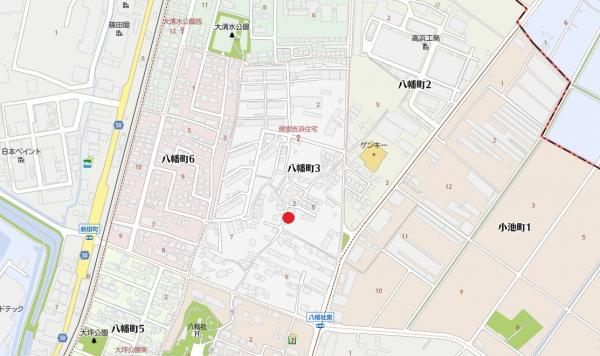 土地 高浜市八幡町3丁目 名鉄三河線吉浜駅 1680万円
