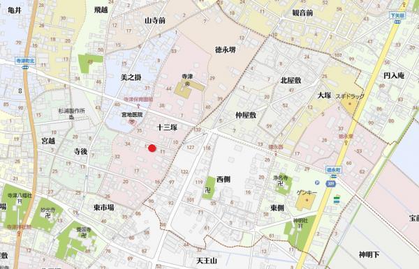 新築戸建 西尾市寺津町十三塚 名鉄西尾線福地駅 2380万円