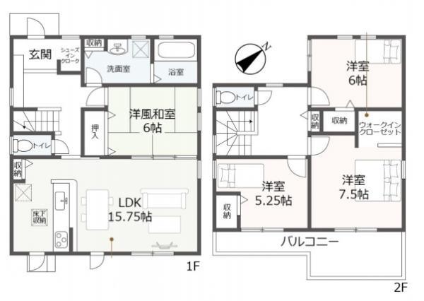 新築戸建 西尾市上矢田町清水 名鉄西尾線福地駅 2380万円