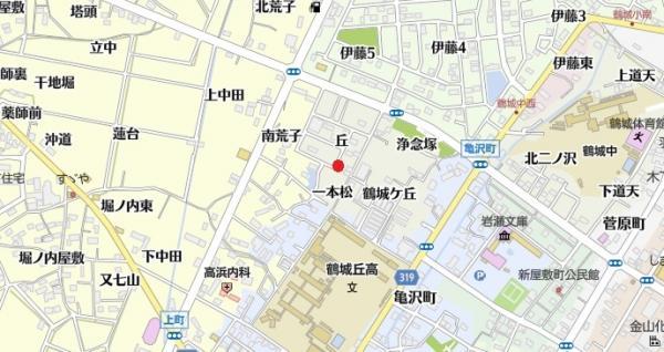 土地 西尾市鶴城町丘 名鉄西尾線西尾口駅 2100万円