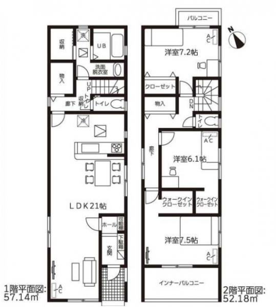 新築戸建 西尾市鶴舞町 名鉄西尾線西尾駅 2690万円
