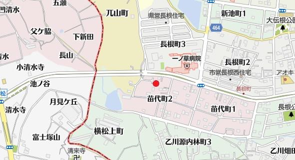 土地 半田市苗代町2丁目 JR武豊線乙川駅 600万円