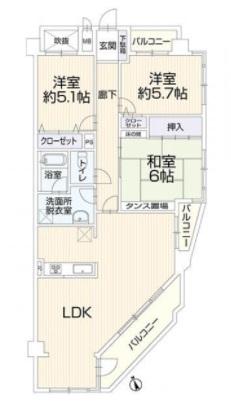 中古マンション 安城市古井町大堀 名鉄西尾線碧海古井駅 2099万円