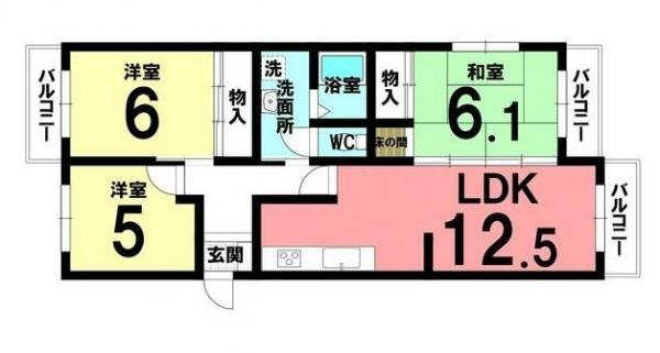 中古マンション 安城市桜町 JR東海道本線(熱海〜米原)安城駅 1080万円