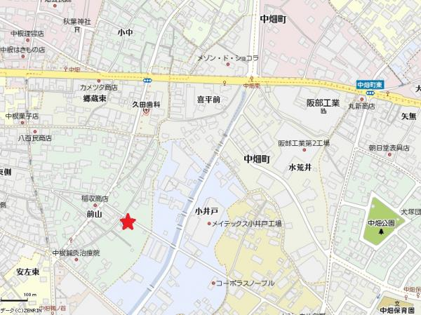 土地 愛知県西尾市中畑町前山  1122万円
