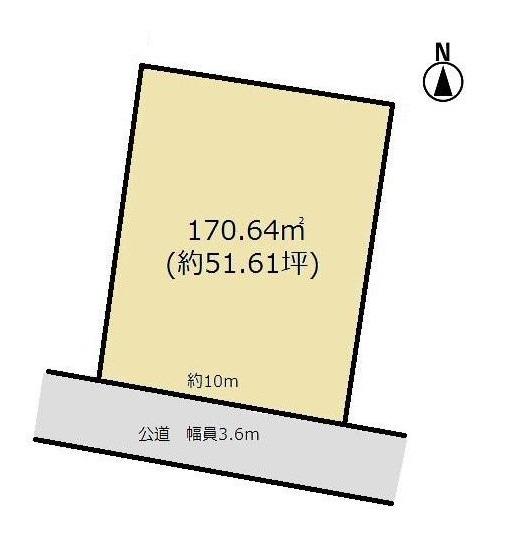土地 愛知県碧南市山神町7丁目 名鉄三河線新川町駅 420万円