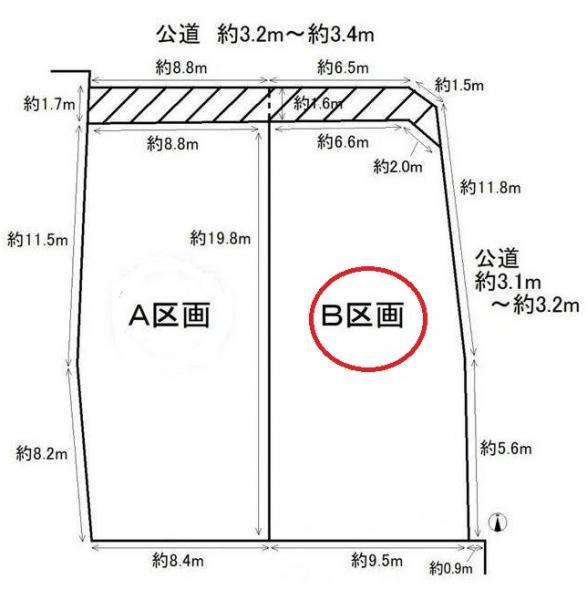 土地 愛知県西尾市家武町札木 名鉄西尾線西尾口駅 1243万円