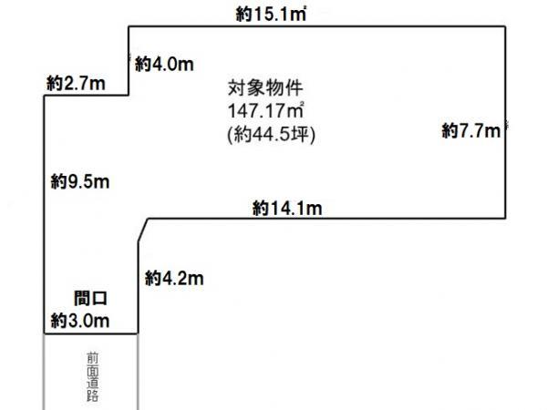 土地 愛知県碧南市尾城町4丁目 名鉄三河線碧南中央駅 880万円