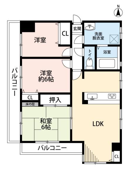中古マンション 愛知県安城市上条町熊野林 名鉄西尾線南安城駅 1369万円