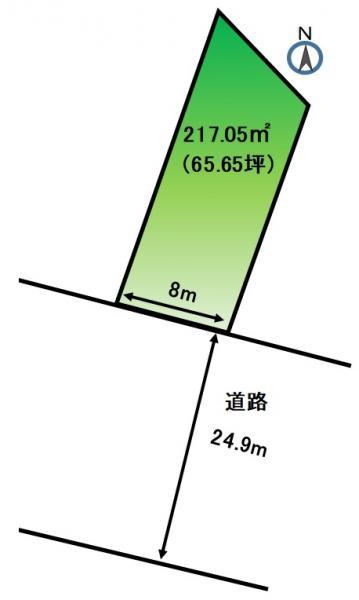 土地 浜松市東区半田町 JR東海道本線(熱海〜米原)浜松駅 1969.5万円
