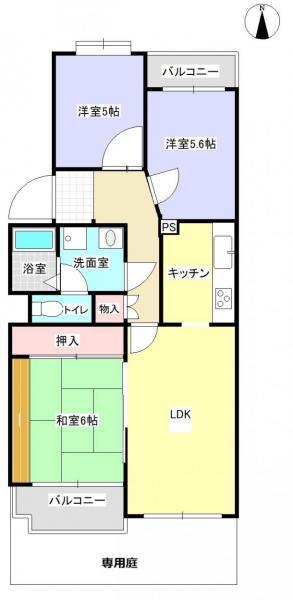 中古マンション 浜松市中区住吉5丁目 JR東海道本線(熱海〜米原)浜松駅 730万円