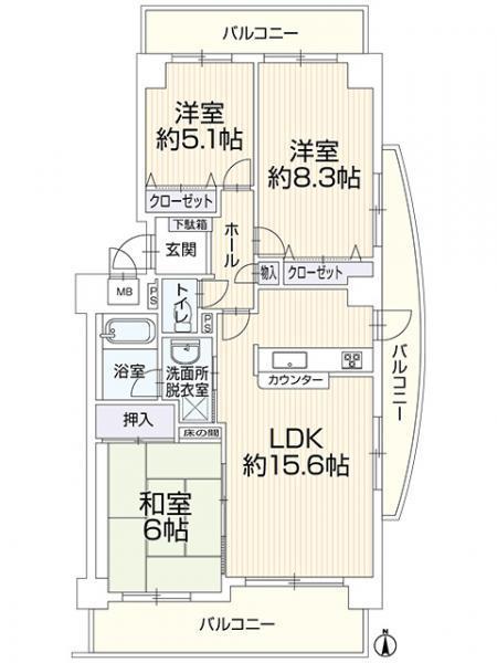 中古マンション 浜松市中区和合北1丁目 JR東海道本線(熱海〜米原)浜松駅 1799万円