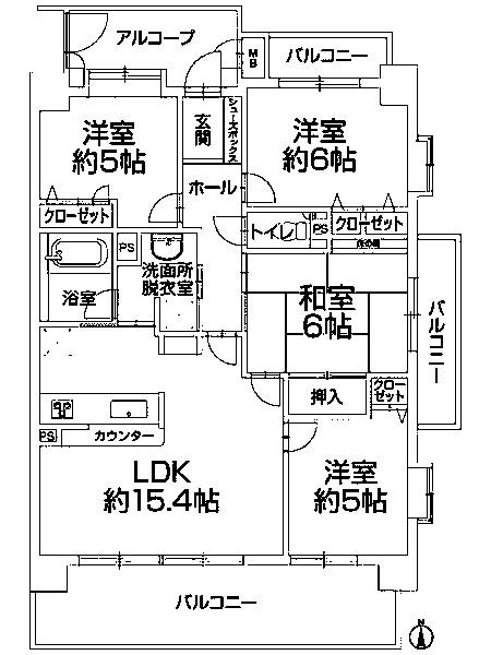 中古マンション 浜松市中区神田町 JR東海道本線(熱海〜米原)浜松駅 1799万円