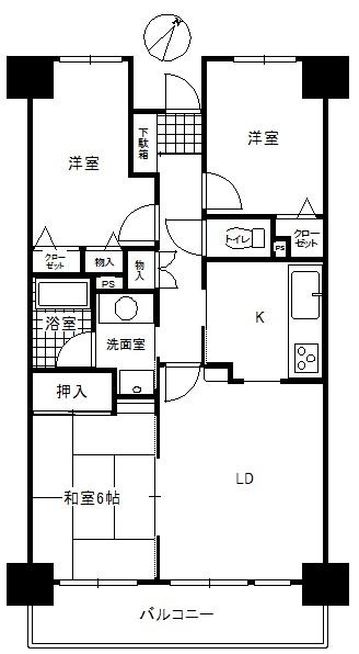 中古マンション 浜松市西区西山町 JR東海道本線(熱海〜米原)浜松駅 730万円