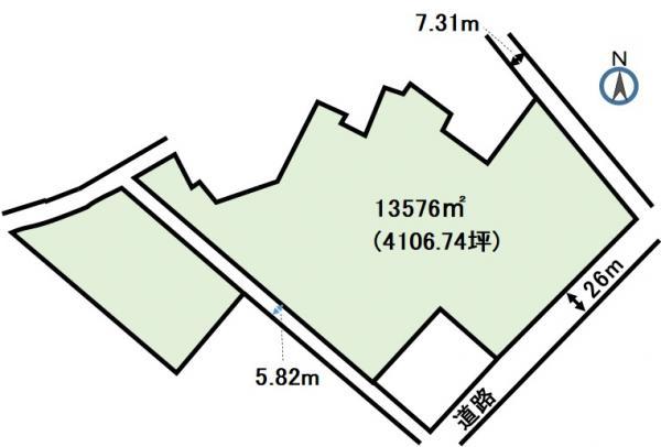 土地 静岡県浜松市西区大人見町3404-1 東海道本線浜松駅 2億6631万円