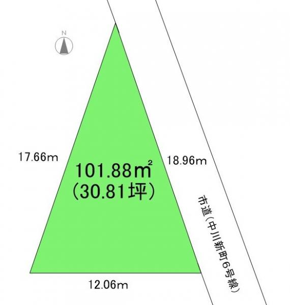 土地 富山市秋吉新町 富山地鉄不二越上滝線大泉駅 230万円
