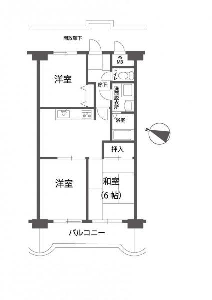 中古マンション 岡山市南区泉田 山陽本線岡山駅 980万円