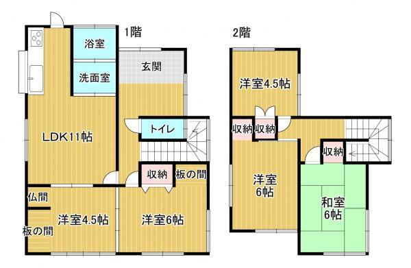 中古戸建 福岡県糸島市曽根230 JR筑肥線波多江駅 890万円