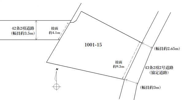 土地 福岡県福岡市東区和白3丁目15-8 JR香椎線和白駅 1800万円