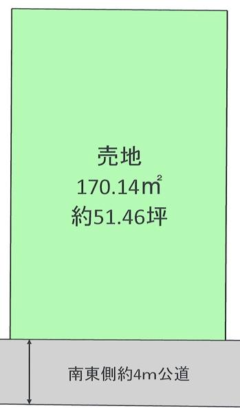 土地 清瀬市元町2丁目12-35 西武池袋線清瀬駅 3980万円