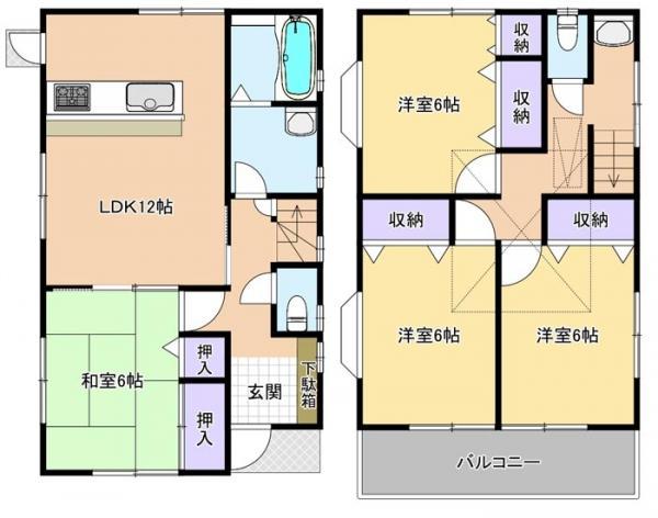 中古戸建 市川市大和田5丁目 JR中央・総武線本八幡駅 3480万円