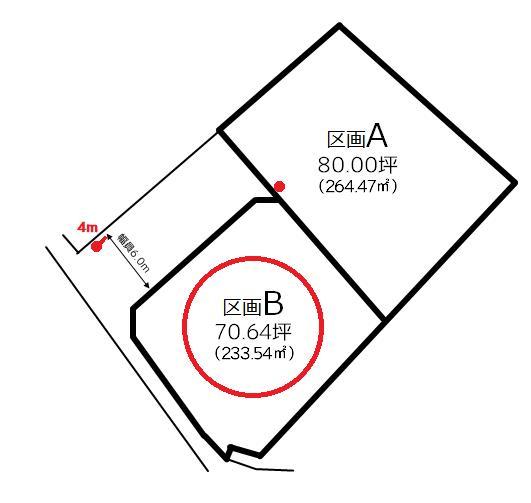 土地 西条市中野甲 JR予讃線伊予西条駅 680万円