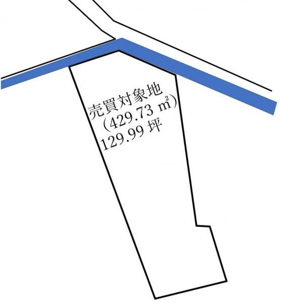 土地 新居浜市大生院 JR予讃線中萩駅 650万円