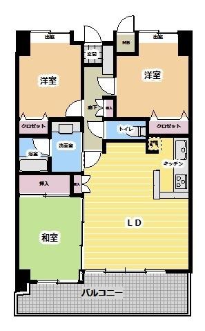 中古マンション 今治市南日吉町2丁目 JR予讃線今治駅 980万円