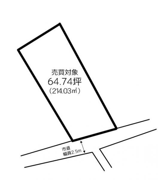 土地 西条市桑村 JR予讃線伊予三芳駅 380万円