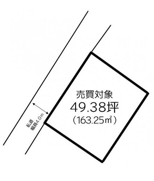 土地 西条市河原津 JR予讃線伊予三芳駅 380万円